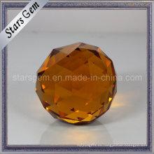 Bola redonda de varios colores con bola de cristal de la decoración de Point Blass