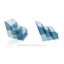 Blaues Acryl-CD-Anzeigen-Gestell für Geschäft