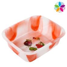 Rectangle Design Plastic Washing Basin (SLP028)