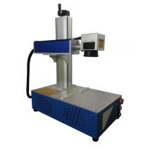 Máquina da marcação do laser da fibra do metal 30w da impressão do logotipo
