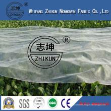 Protección UV (3%) Tejido no tejido PP Spunbond para película agrícola