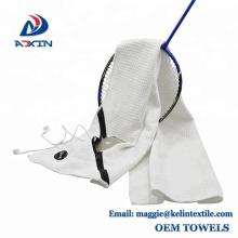 La cremallera de la microfibra de encargo de la fábrica de China se divierte la toalla del gimnasio