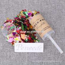 Meilleure conception bon marché Confetti de fête de mariage pas cher Push Pop à vendre
