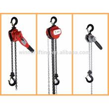 el tipo de cadena de elevación de bloque de electricidad y de alimentación manual;de anclaje de la cadena de bloques