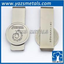 Clip de aluminio brillante personalizado
