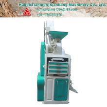 Operação fácil mini moderno completou a máquina de trituração de arroz