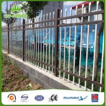 Стальной забор для пикета
