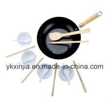 Küchenartikel Carbon Steel Non-Stick Wok Kochgeschirr