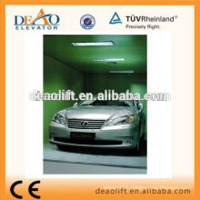 5000kg Rear Open Car Elevator with Painted Steel Plate