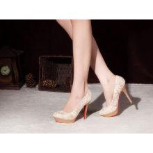 New Style Fashion High Heel Wedding Dress Shoes (HCY02-1831)