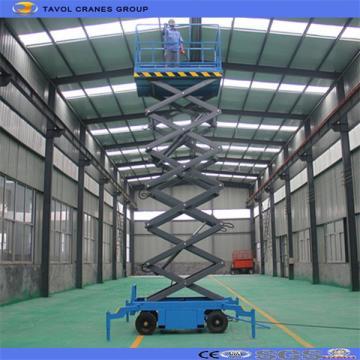 Plataforma de trabajo aéreo Plataforma de tijera hidráulica
