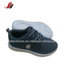Lace up Sport Casual Shoes, Children Canvas Injection Shoes