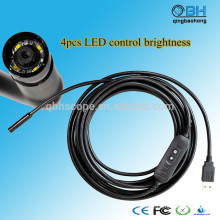 Videoscope numérique d'inspection de tuyau d'USB d'égout numérique de 15M