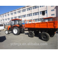 7CX-5 4wheel 5 ton trailer with CE certificate
