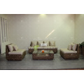 Classic Design Natural Water Hyacinth Sofa Set for Living Room Wicker Furniture