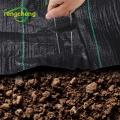 Tapis de jardin en tissu piquets de fixation piquets de sol en métal avec patins