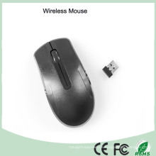 Ultra dünne schwarze Farbe 2.4GHz drahtlose Spiel-Maus
