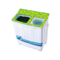 Green Glass Cover 7.2KG Twin Tub Mesin Cuci