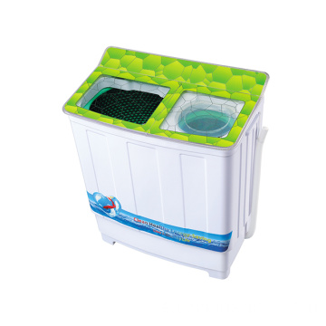 Grüne Glasabdeckung 7.2KG Twin Tub Washing Machine