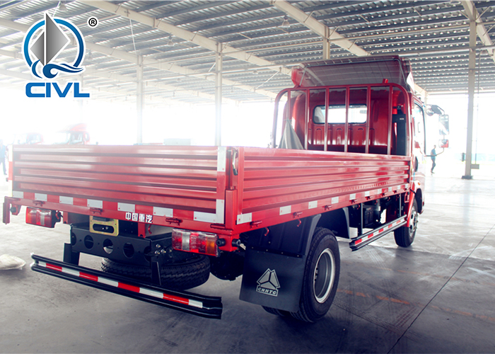 Cargo Light Truck Red Sidewall 9