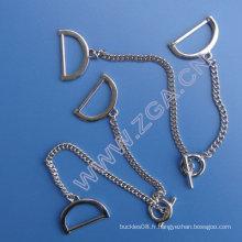 Chaîne de taille en métal, ceinture en métal