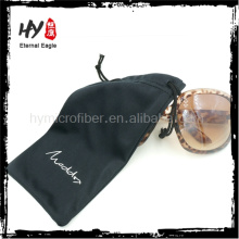 china supplier eyeglass soft case, sunglasses pouch microfiber, len cloth pouch