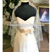 Die neue Braut Hochzeit Schleier Suzhou Großhandel Koreanisch - Stil Gold getrimmt Braut Braut Hochzeit Zubehör Hochzeit Schleier