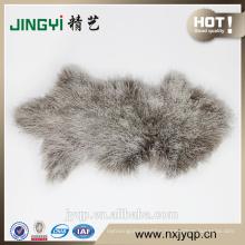 China Supplier Genuine Mongolian sheep Fur skin Pink