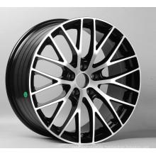 2017 17 pulgadas rueda de radios cromo ruedas giratorias aleación de aluminio
