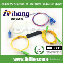 FBT 1 * 2 10/90 20/80 30/70 40/60 50/50 divisor de fibra óptica fusionado