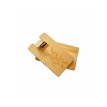 Tarjeta de memoria USB de madera giratoria ambiental USB