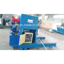 Desbobinador automático hidráulico de chapa de acero de 5 toneladas