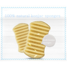 Esponja de banho de venda direta da fábrica Esponja de konjac bebê