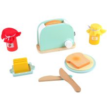 Interactive children's educational wooden kitchen toys for kid child's