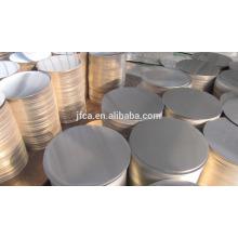 1050 1060 1070 1100 3003 feuilles circulaires en aluminium pour prix éclairage