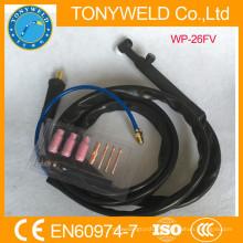 Torch WP-26V de soldagem com resfriamento a gás