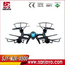 Helicopter drone drone phantom MJX X500 2.4G 6 Axis 3D Roll FPV Quadcopter Real-time Transmission kits