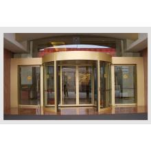 Puerta corrediza curvada automática del hotel, Puerta corrediza auto del vidrio del hotel