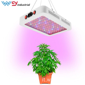 Doppio interruttore BLOOM / VEG 600W LED Plant Grow Light