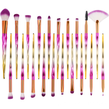 20 PCS Makeup Brushes Nylon Powder Concealer Σκιά ματιών
