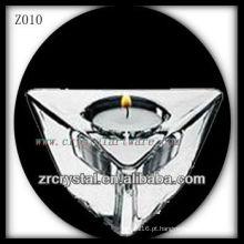 Suporte de vela de cristal popular Z010