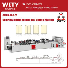 CWZD-400ZF High-Speed Central Sealing Bag Making Machine