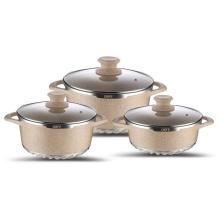 Die-cast Aluminum Roaster Pan With Lid