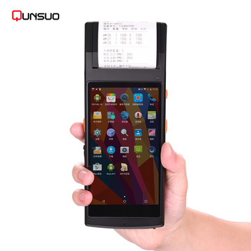 Android PDA Touchscreen NFC Barcode Scanner