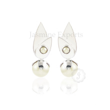 Wholesale Supplier for Fashionable Pearl Silver Earring for Engagement and Wedding
