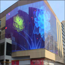 Vorhangfassaden-LED-Anzeige für den Außenbereich
