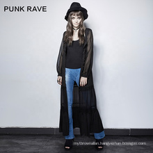 PY-192 punk rave lace up shoulders ladies summer dress ladies fancy dress costume with good offer