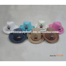 Sombrero de vaquero rosado bebé para niños baratos