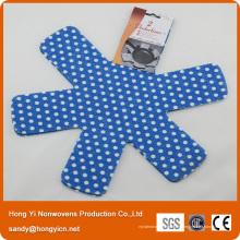 Protecteur de casserole et poêle en tissu non tissé 100% polyester
