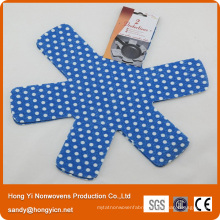 100%Polyester Laser Cutting Nonwoven Fabric Pot&Pan Protector